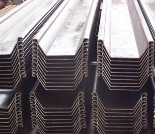 China EN10249-1 / EN10249-2 Different specification Cold Rolled U Type Steel Sheet Pile supplier