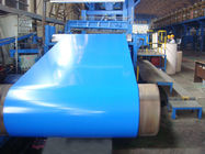 China 15 - 20 micron polyester + 5 micron primer LFQ AZ Prepainted Color Steel Coils / coil factory