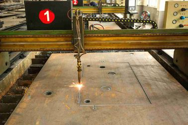China Embedded Punching Laser Cutting Steel Plate For Building Material SGS Approval distributor
