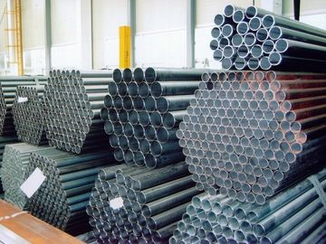 China round / Square / Rectangle / Ellipse galvanized, black color ERW Welded Steel Pipes / Pipe distributor