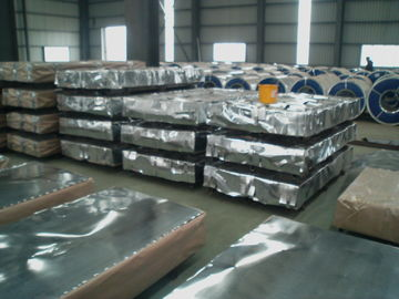 China hot dipped JIS SGCC, SGCH, G550 steel Galvanized Corrugated Roofing Sheet / Sheets distributor