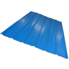 China CGCC, DX51D Zinc Coating white, red, blue PRE PAINTED Corrugated steel Roof Sheets / Sheet distributor