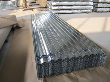 China SGCC, SGCH, G550 JIS hot dipped Steel Galvanized Corrugated Roofing Sheet / sheets distributor